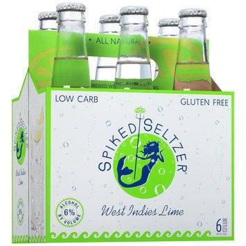 SpikedSeltzer® West Indies Lime Beer 6-12 fl. oz. Bottles