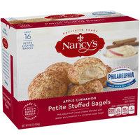 Nancy's® Apple Cinnamon Petite Stuffed Bagels