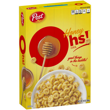 Post® Honey Oh's!™ Cereal