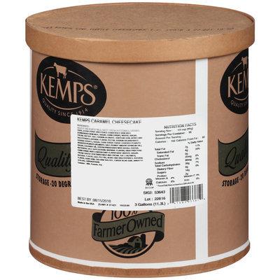 Kemps® Caramel Turtle Cheesecake Ice Cream 3 Gal. Tub