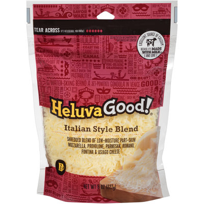 Heluva Good!® Italian Style Blend Shredded Cheese 8 oz. Package