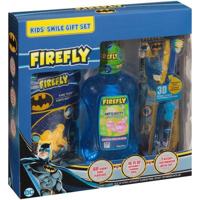 Firefly® Batman Kids' Smile Gift Set 3 pc Box