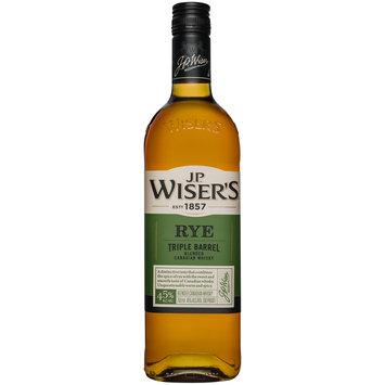 J.P. Wiser's® Triple Barrel Canadian Rye Whisky 750mL Bottle