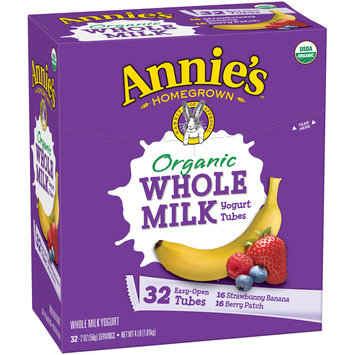 Annie's™ Strawbunny Banana & Berry Patch Organic Whole Milk Yogurt Variety Pack 32-2 oz. Tubes