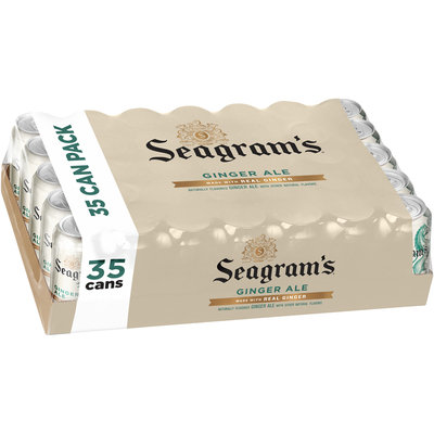 Seagram's® Ginger Ale 35 ct Pack