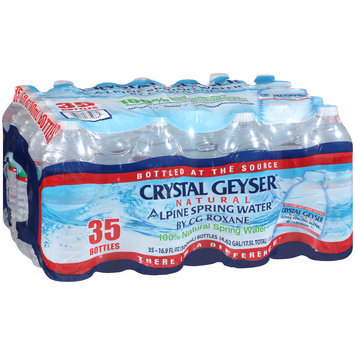 Crystal Geyser® Natural Alpine Spring Water® 35-16.9 fl. oz. Bottles