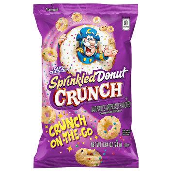 Cap'n Crunch's Sprinkled Donut Crunch® Cereal .84 oz. Bag