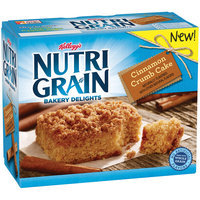 Kellogg's® Nutri-Grain® Bakery Delights Cinnamon Crumb Cake