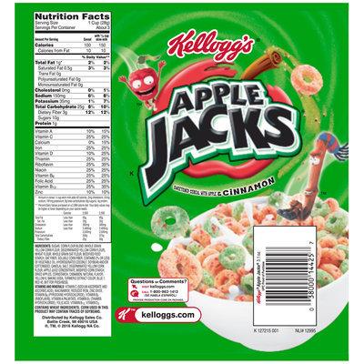 Kellogg's® Apple Jacks® Cereal 3.1 oz. Bag