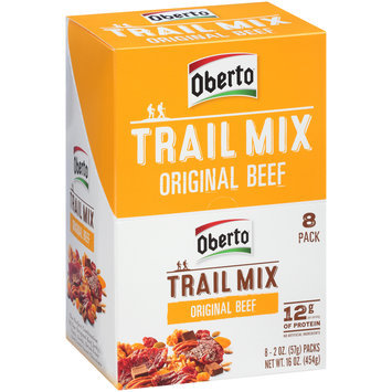 Oberto® Trail Mix Original Beef 8-2 oz. Packs