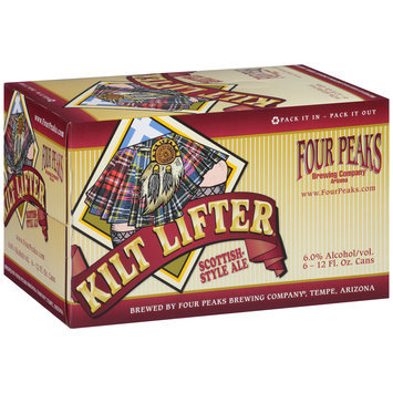 Four Peaks Brewing Company® Kilt Lifter® Scottish-Style Ale 6-12 fl. oz. Cans