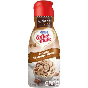 Nestle Coffeemate Mocha Almond Fudge Liquid Coffee Creamer 32 fl. oz. Bottle