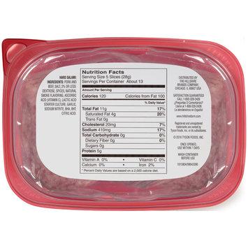 Hillshire Farm Deli Select® Ultra Thin Hard Salami