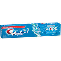 Crest® Complete™ Whitening + Scope® Cool Peppermint Toothpaste 130mL Box