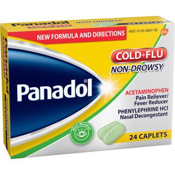 Panadol® Non-Drowsy Cold+Flu Caplets 24 ct Box