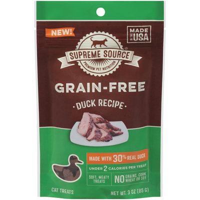 Supreme Source® Grain-Free Duck Recipe Cat Treats 3 oz. Bag