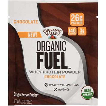 Organic Valley® Organic Fuel™ Chocolate Whey Protein Powder 1.23 oz. Packet