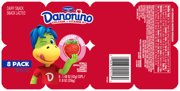 Dannon® Danonino™ Yogurt Strawberry 1.76oz 8 pack