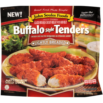 John Soules Foods® Lightly Breaded Buffalo Style Tenders 24 oz. Bag