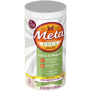 Metamucil® Free Daily Fiber Supplement 29 oz. Canister