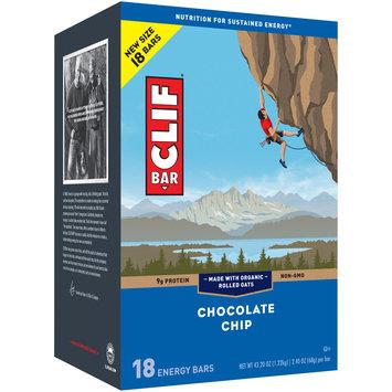 CLIF Bar® Chocolate Chip Energy Bars 18-2.4 oz. Bars