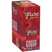 Pure Organic Strawberry Apple Fruit & Veggie Strip 24-0.49 oz. Strips