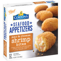 Gortons® Seafood Appetizers Mac & Cheese Shrimp Bites 12 oz. Box