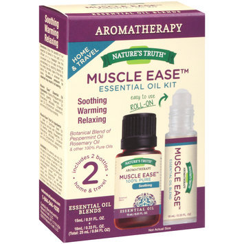 Nature's Truth® Aromatherapy Muscle Ease™ Essential Oil Kit 0.84 fl. oz. Box
