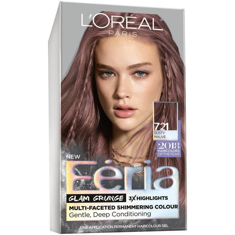 L Oreal Paris Feria Hair Color 721 Dusty Mauve 1 Kt Box
