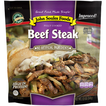John Soules Foods® Beef Steak 12 oz. Bag