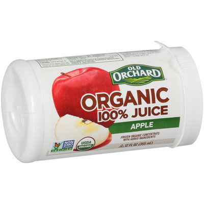 Old Orchard® Organic Frozen Concentrate Apple Juice 12 fl. oz. Can