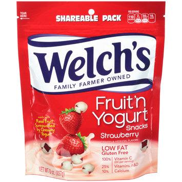 Welch's® Strawberry Fruit 'n Yogurt™ Snacks 8 oz. Stand-Up Bag