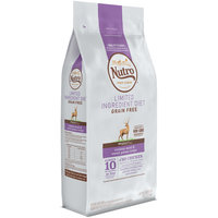 Nutro Feed Clean™ Limited Ingredient Diet Grain Free Venison Meal & Sweet Potato Recipe Adult 1+ Years Dog Food 4 lb. Bag