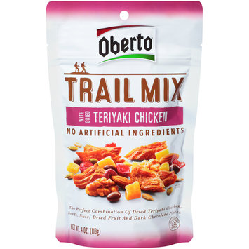Oberto® Teriyaki Chicken Trail Mix 4 oz. Peg