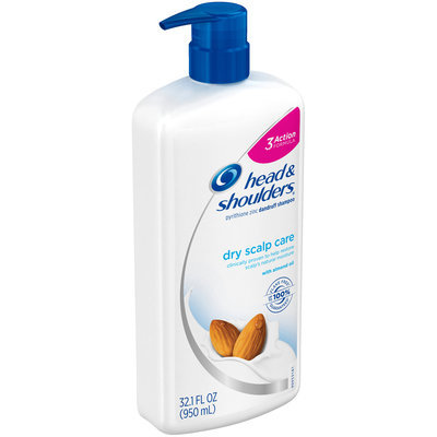 Head & Shoulders® Dry Scalp Care with Almond Oil Dandruff Shampoo 32.1 fl. oz. Pump