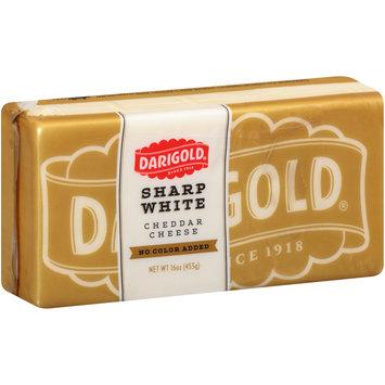 Darigold® Sharp White Cheddar No Color Added Cheese 16 oz. Brick