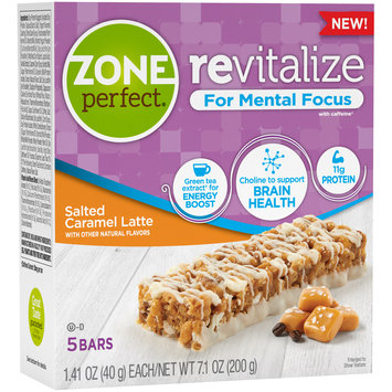 Zone Perfect® Revitalize Salted Caramel Latte Nutrition Bars 5-1.41 oz. Bars
