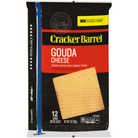 Cracker Barrel Gouda Cheese Slices 12 ct Pack