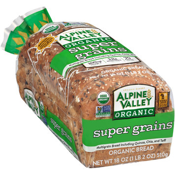 Alpine Valley™ Organic Super Grains Bread 18 oz. Bag