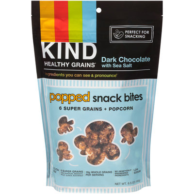 KIND® Dark Chocolate With Sea Salt Popped Snack Bites