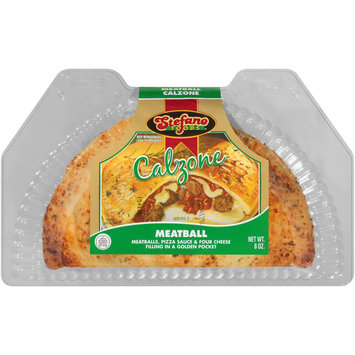 Stefano Foods® Meatball Calzone 8 oz. Plastic Container