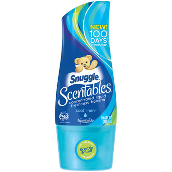 Snuggle® Scentables™ Cool Linen™ Concentrated Liquid Freshness Booster 10.4 fl. oz. Bottle