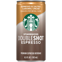 Starbucks® Doubleshot® Espresso & Salted Caramel Cream Premium Espresso Beverage 6.5 fl. oz. Can