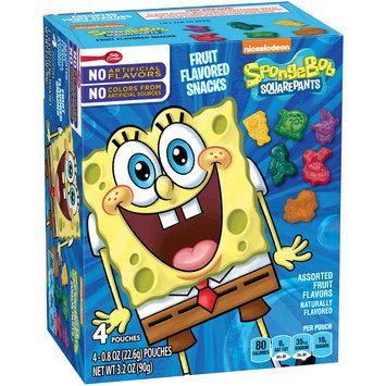 Betty Crocker® SpongeBob SquarePants™ Fruit Flavored Snacks 4-0.8 oz. Pouches