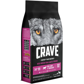 Crave™ with Protein from Lamb & Venison Dog Food 32 oz. Bag