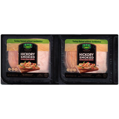 Jennie-O® Premium Hickory Smoked Sliced Turkey Breast 2-16 oz. Packs