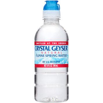 Crystal Geyser® Natural Alpine Spring Water® 8 fl. oz. Bottle