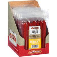 Old Wisconsin® Honey Brown Sugar Turkey Snack Stick Sausage Sticks Caddie 12-5 oz. Box