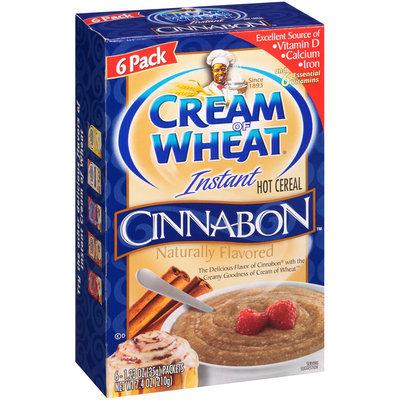 Cream of Wheat® Cinnabon™ Instant Hot Cereal 6-1.23 oz. Bag