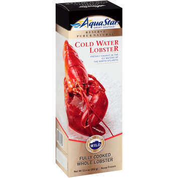 Aqua Star® Cold Water Fully Cooked Whole Lobster